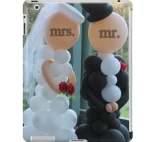 Wedding Humour Balloon Bride and Groom iPad Case/Skin
