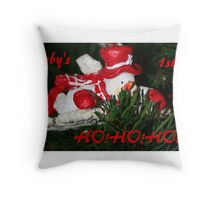 Baby's 1st. HO!HO!HO! Throw Pillow