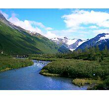 Bear Valley AK Photographic Print
