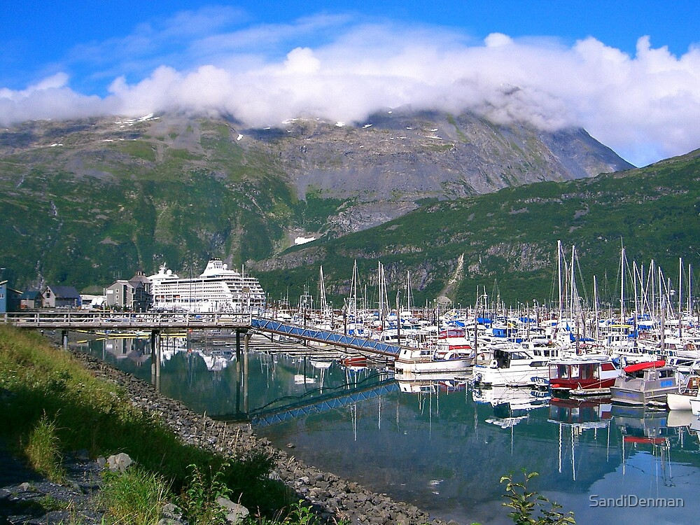 Port of Whittier AK by SandiDenman