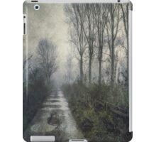 Fog on the Bridleway iPad Case/Skin