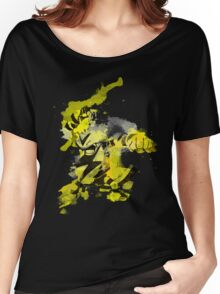 Electabuzz Splatter Women's Relaxed Fit T-Shirt