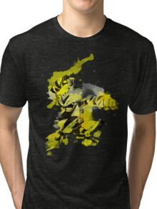Electabuzz Splatter Tri-blend T-Shirt