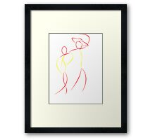 Flamenco dancers Framed Print