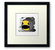Pacstronaut Framed Print