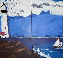 The Light House by kerrysart