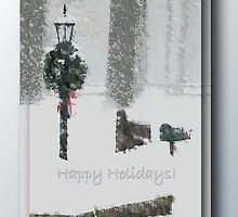 A Snowy Day ... Happy Holidays by Harry Murray