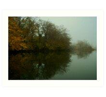 Lagoon 2 Art Print