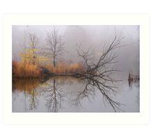 Lagoon 4 Art Print