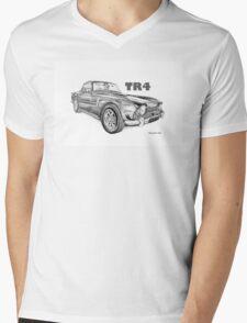 Triumph TR4 Mens V-Neck T-Shirt