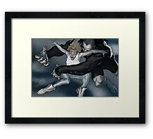 Val-Mar Catches Phoebe Framed Print