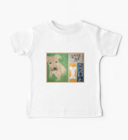 Save Me puppy Baby Tee