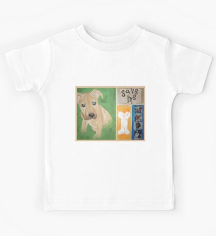 Save Me puppy Kids Tee