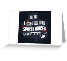 Doctor Who Catchphrases 2 Greeting Card