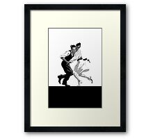 Clay and Lisette Dancing Framed Print