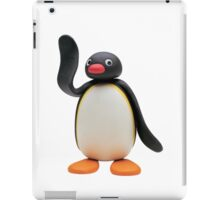 pingu waving iPad Case/Skin
