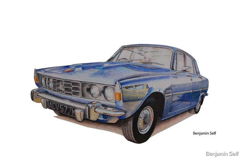 Rover P6 2000 by BSIllustration
