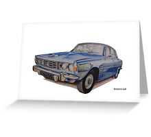 Rover P6 2000 Greeting Card