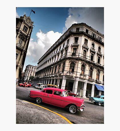 '56 Chevy 210 - Havana Photographic Print