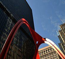 Chicago Flamingo by jngdesign