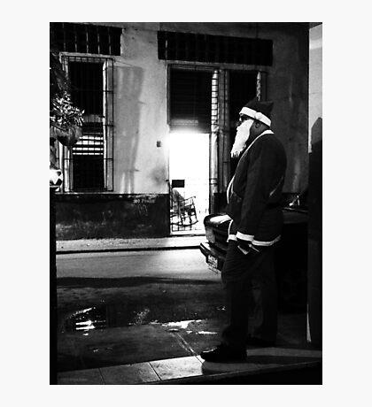 Cuban Santa Photographic Print
