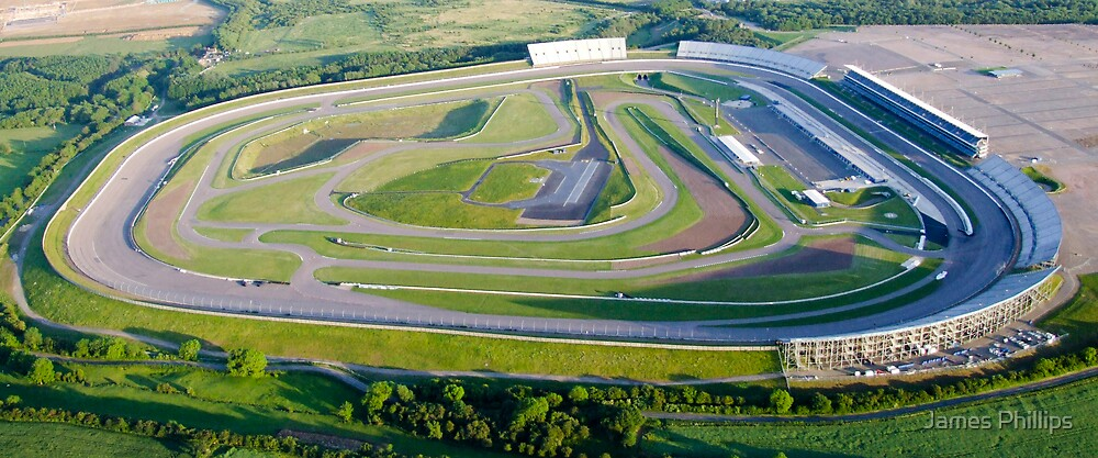 Rockingham Race Track by James Phillips