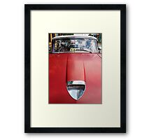 Red Taxi, Viñales  Framed Print