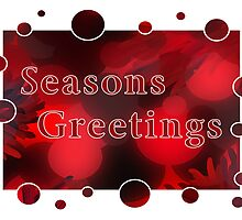 Seasons Greetings Card by MidnightAkita