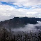Boar's Head & Narrow Neck, Blue Mountains National Park, NSW by GeorgeOne
