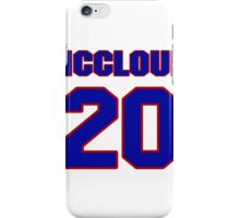 Basketball player George McCloud jersey 20 iPhone Case/Skin
