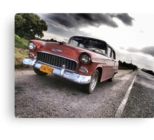Chevy on the CD Canvas Print