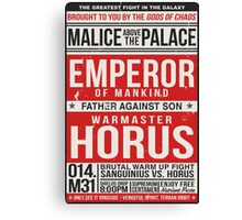 Malice Above The Palace Canvas Print