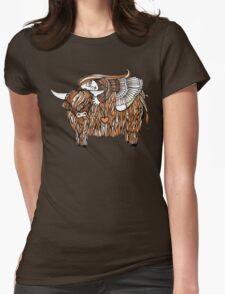 Hayleys Heeland Coo Womens Fitted T-Shirt