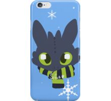 Toothless - Winter Edition iPhone Case/Skin