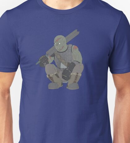 Half orc fighter print Unisex T-Shirt