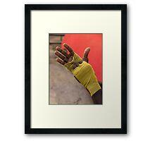 Boxer's Wraps Framed Print