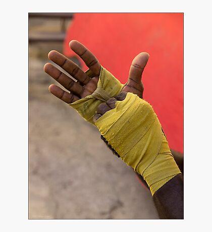 Boxer's Wraps Photographic Print