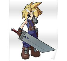 Final Fantasy VII - Cloud Strife Poster
