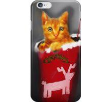 Christmas Kitten iPhone Case/Skin