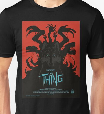 The Thing Classic Retro Poster Unisex T-Shirt