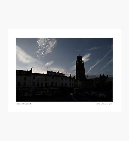 Boston England Photographic Print