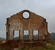 Lithgow Blast Furnace Ruins by rossco