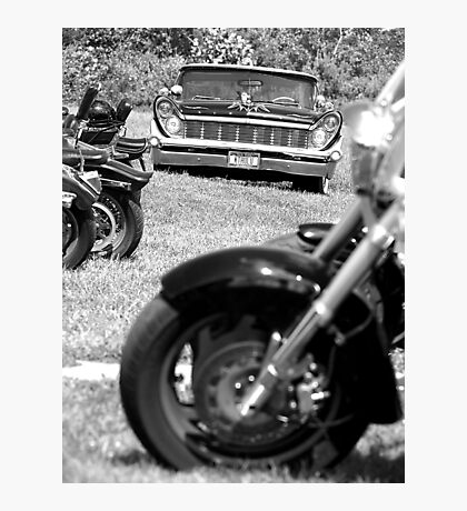 Lincoln Continental Photographic Print