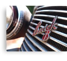 Buick 8 Badge Canvas Print