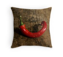 Lone Chili Throw Pillow