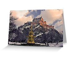 Winter Castle II Greeting Card