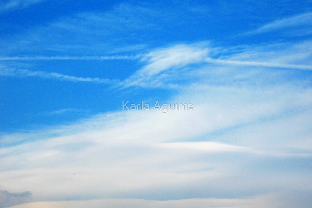 Cloud Lines by Karla Aguirre