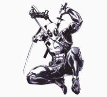 Deadpool Comic Book Drawing.  by kaikirito