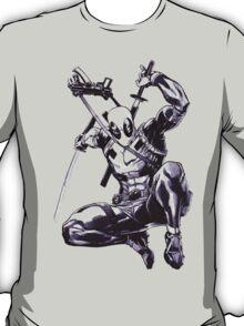 Deadpool Comic Book Drawing.  T-Shirt