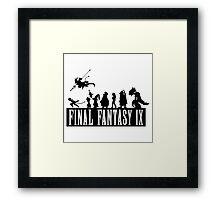 Final Fantasy IX - The Party Framed Print